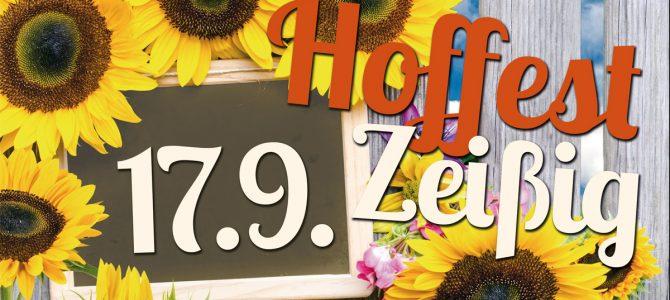 Zeißiger Hoffest am 17. September 2016