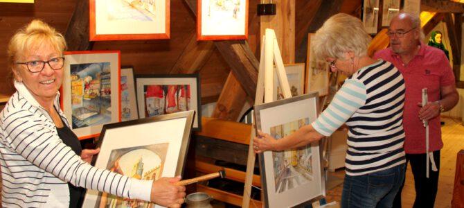 Malerwerkstatt am 20. und 22. September im Zeißighof