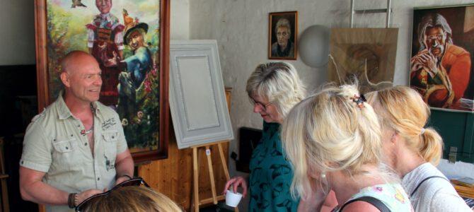 Mit Künstlern im Gespräch